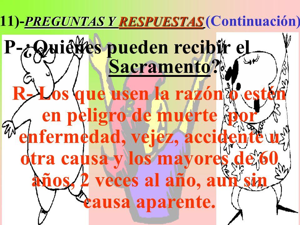 11)-PREGUNTAS Y RESPUESTAS (Continuación)
