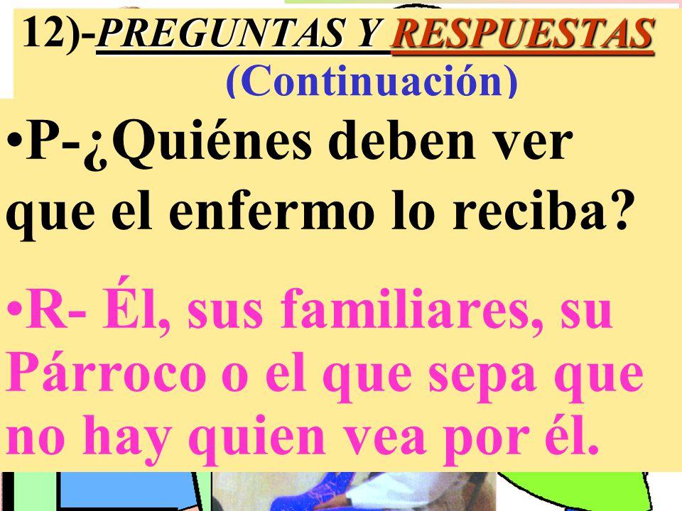 12)-PREGUNTAS Y RESPUESTAS (Continuación)