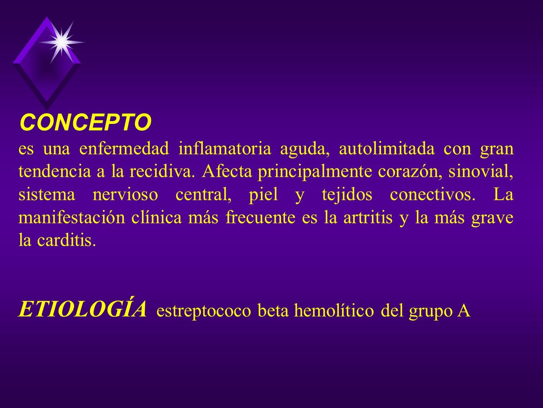ETIOLOGÍA estreptococo beta hemolítico del grupo A