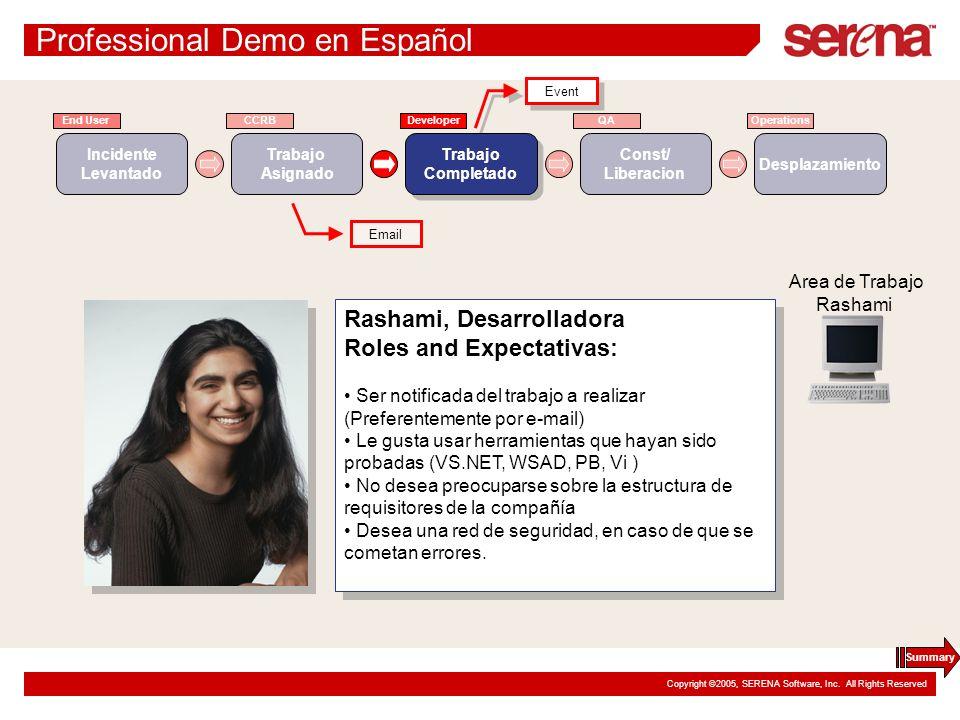 Professional Demo en Español