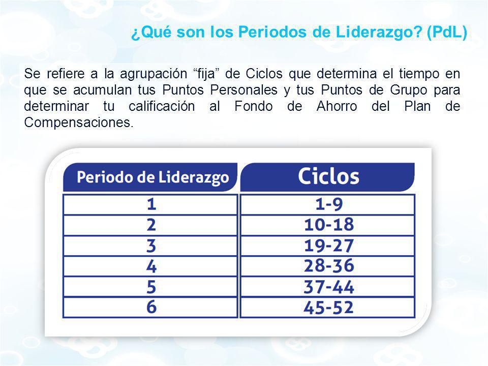 ¿Qué son los Periodos de Liderazgo (PdL)