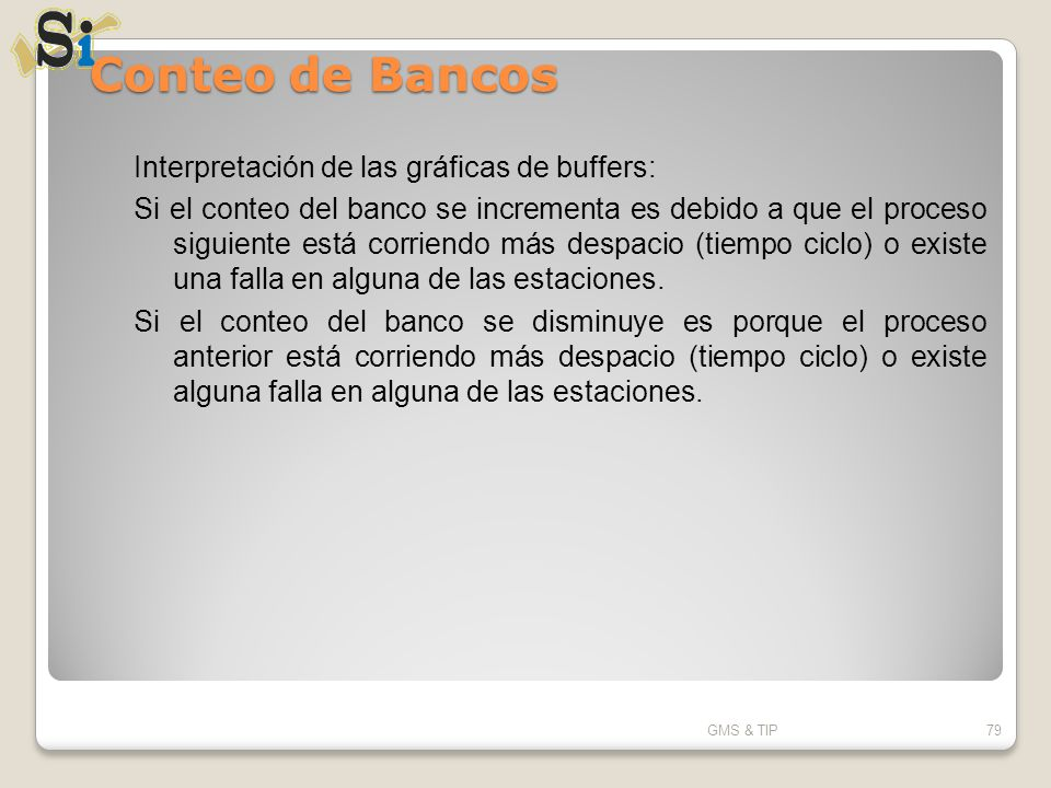 Conteo de Bancos Interpretación de las gráficas de buffers: