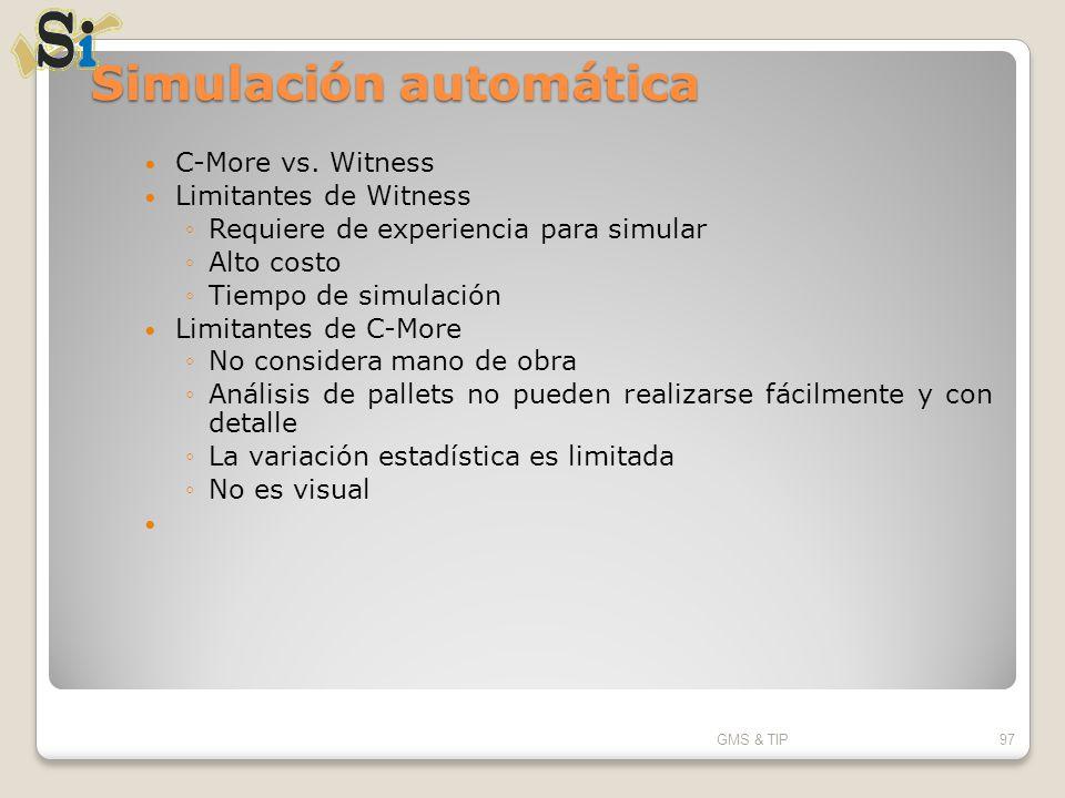 Simulación automática
