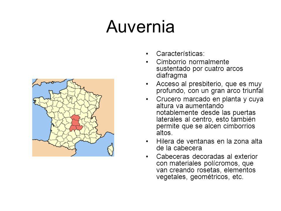 Auvernia Características: