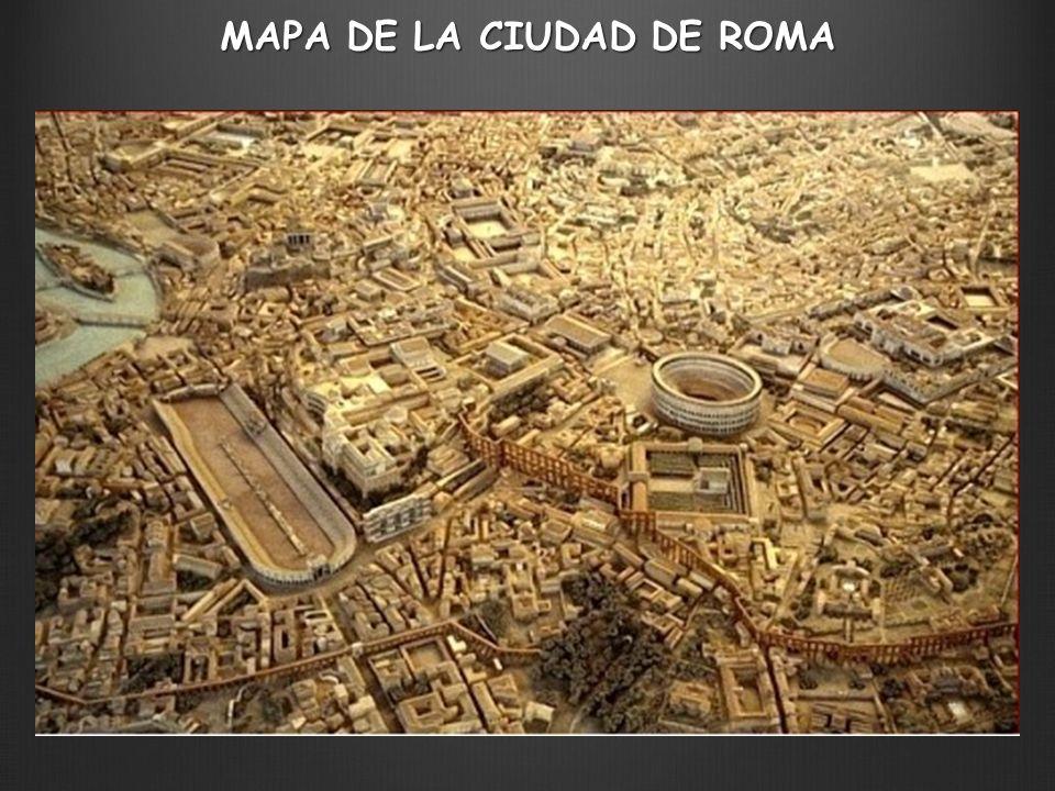 MAPA DE LA CIUDAD DE ROMA