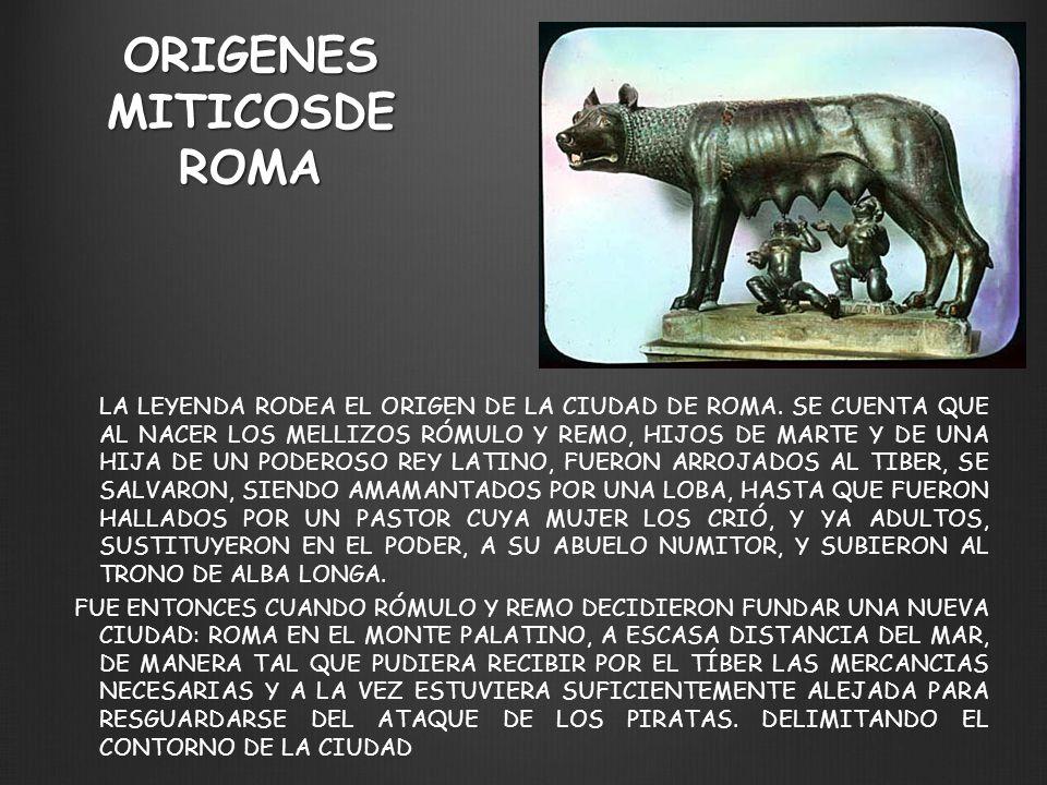 ORIGENES MITICOSDE ROMA