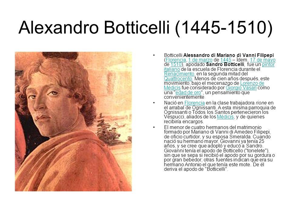 Alexandro Botticelli (1445-1510)