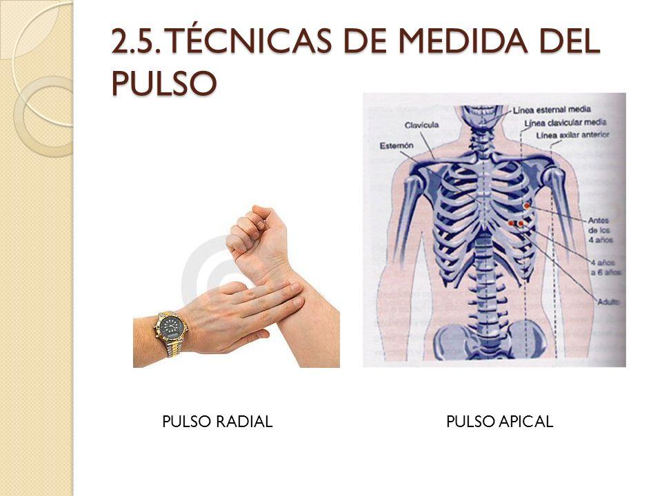 2.5. TÉCNICAS DE MEDIDA DEL PULSO