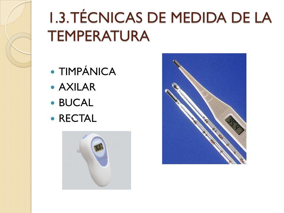 1.3. TÉCNICAS DE MEDIDA DE LA TEMPERATURA