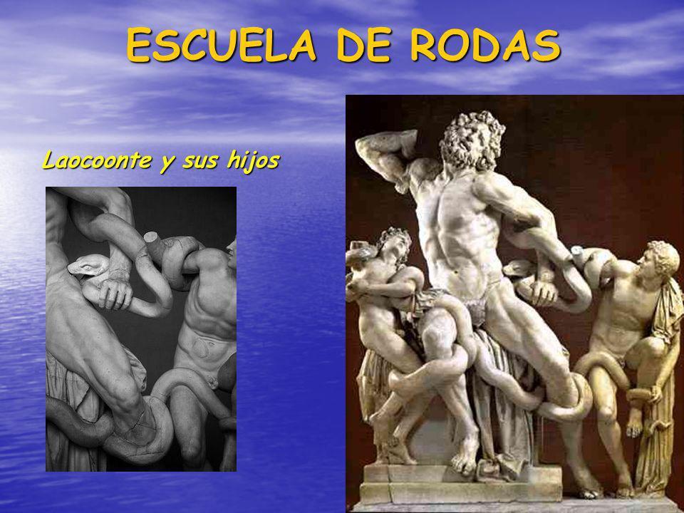 ESCUELA DE RODAS Laocoonte y sus hijos