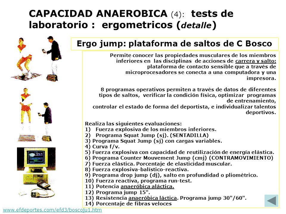 Ergo jump: plataforma de saltos de C Bosco