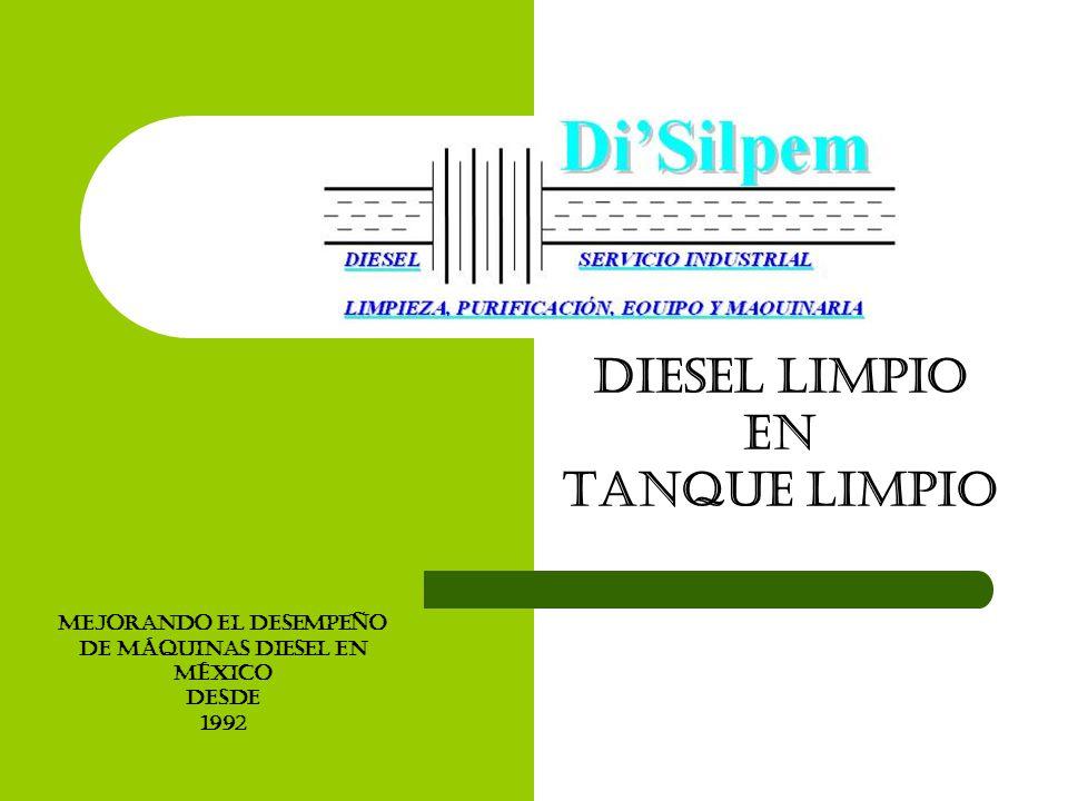 Diesel limpio En Tanque limpio