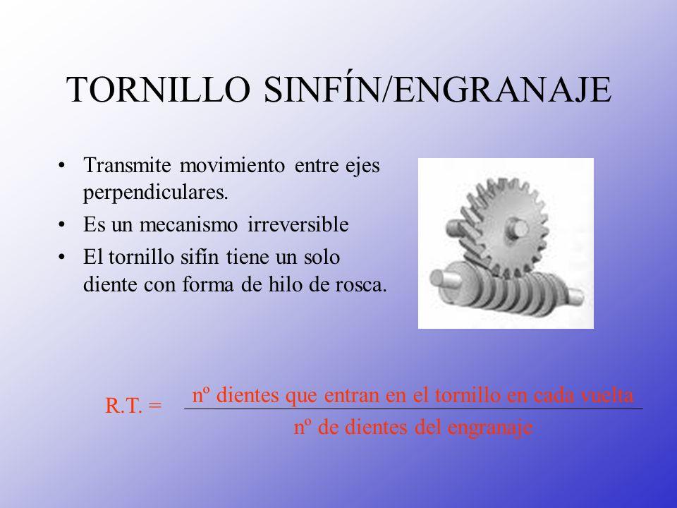 TORNILLO SINFÍN/ENGRANAJE