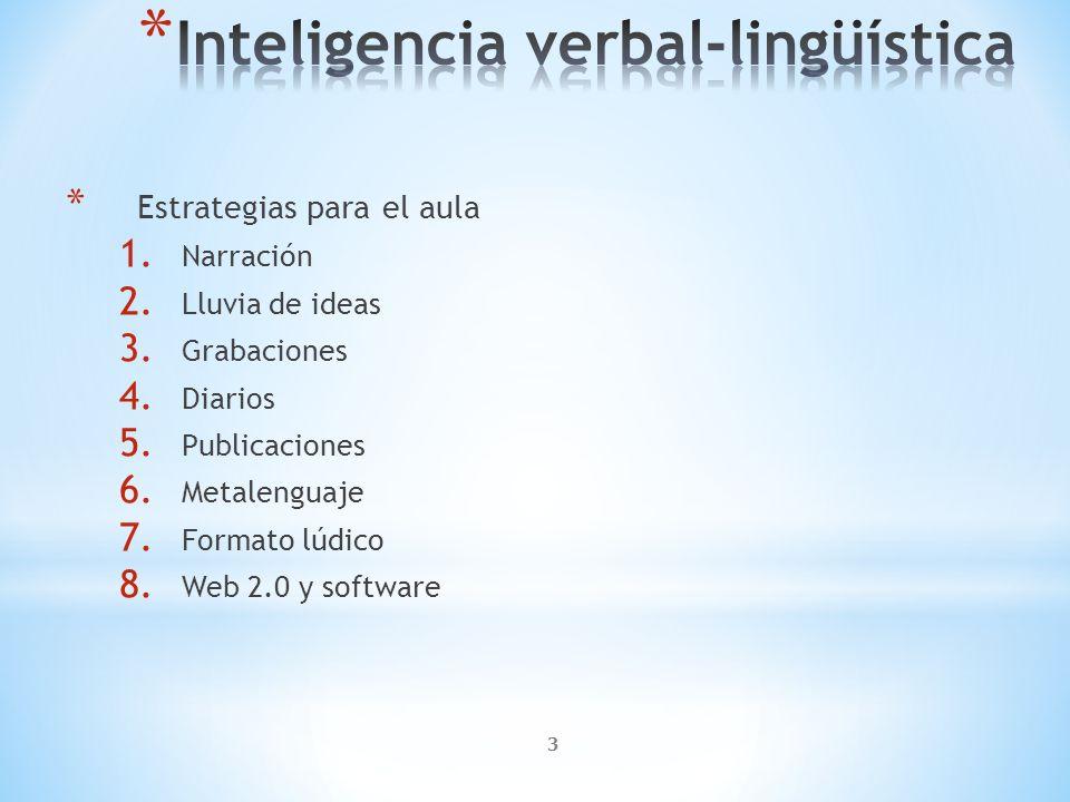 Inteligencia verbal-lingüística