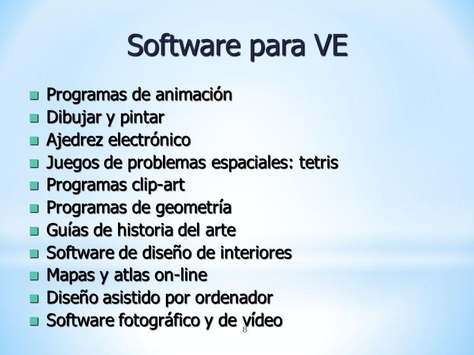 Software para VE Programas de animación Dibujar y pintar