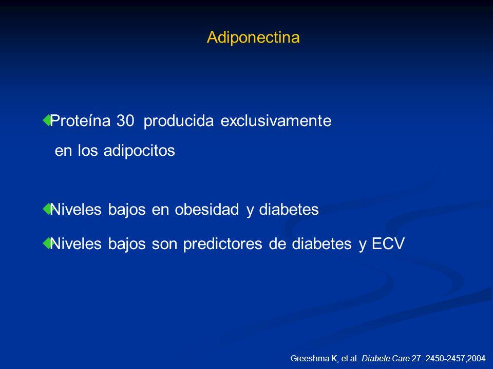 Proteína 30 producida exclusivamente en los adipocitos