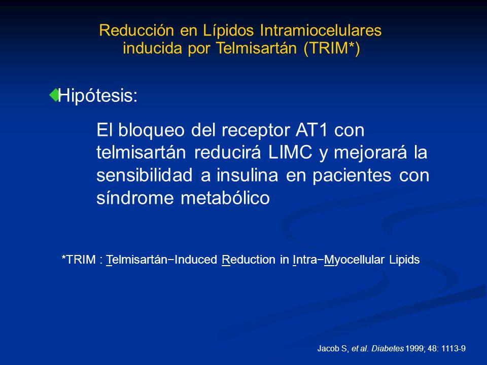 Reducción en Lípidos Intramiocelulares