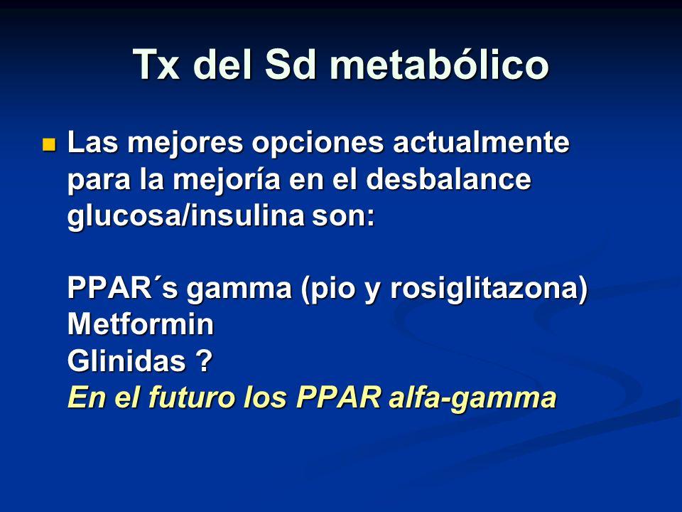Tx del Sd metabólico