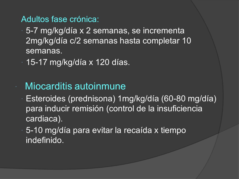 Miocarditis autoinmune