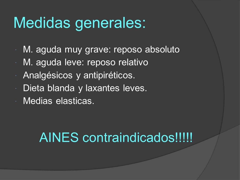 AINES contraindicados!!!!!