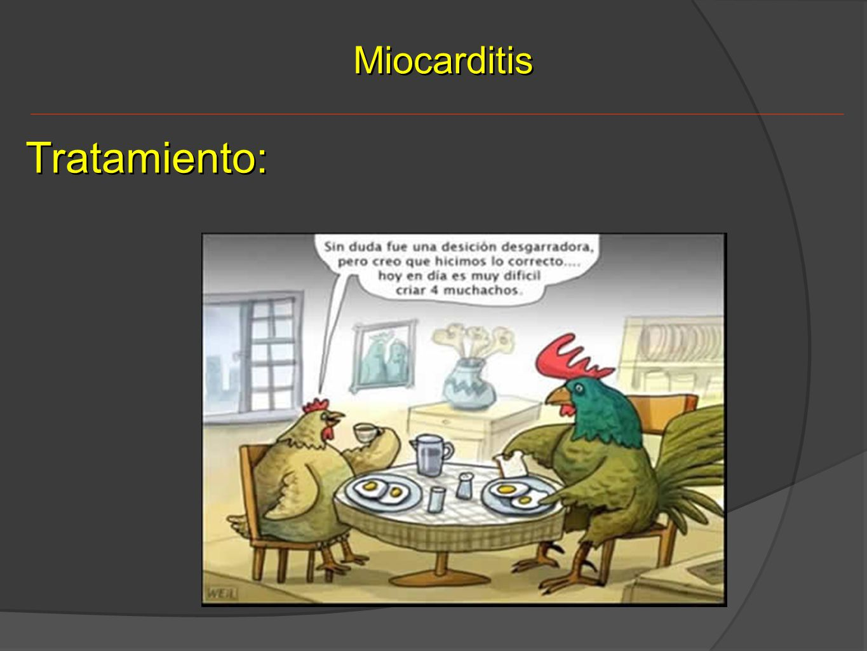 Miocarditis Tratamiento:
