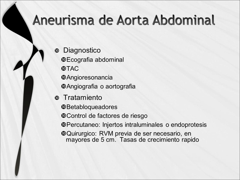 Diagnostico Tratamiento Ecografia abdominal TAC Angioresonancia