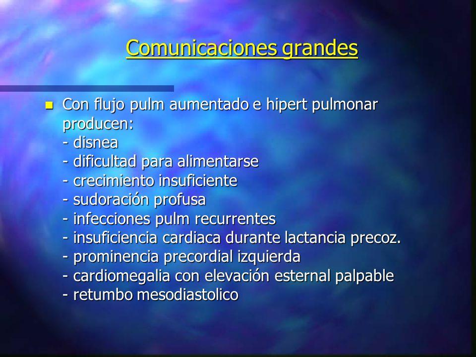 Comunicaciones grandes