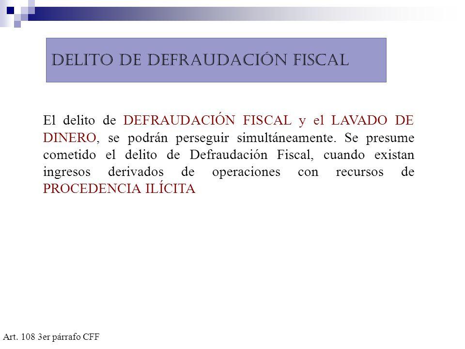 Delito de defraudación fiscal