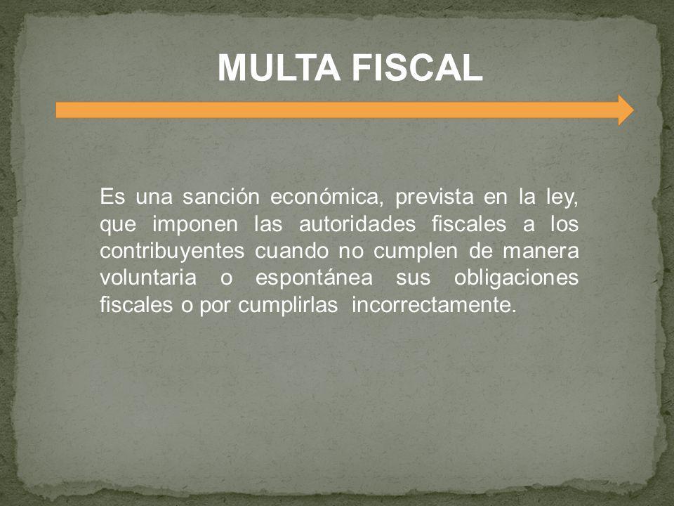 MULTA FISCAL