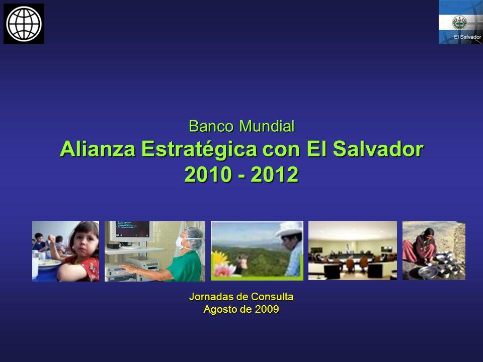 Banco Mundial Alianza Estratégica con El Salvador 2010 - 2012
