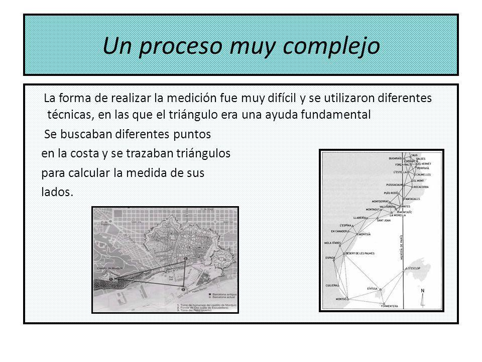 Un proceso muy complejo