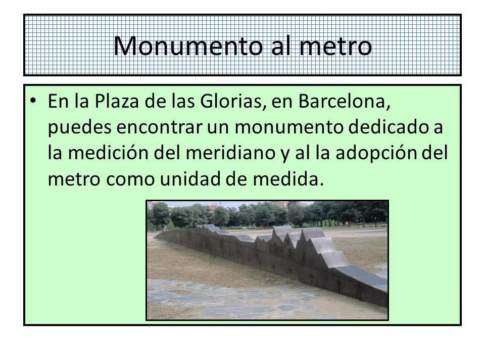 Monumento al metro