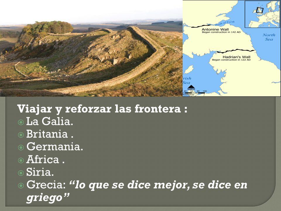 Viajar y reforzar las frontera :