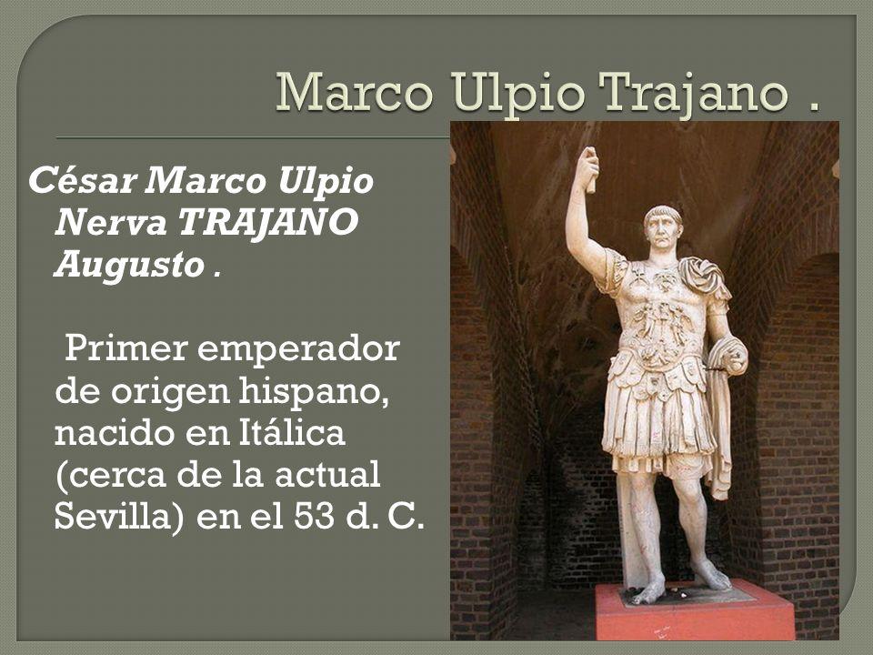 Marco Ulpio Trajano .