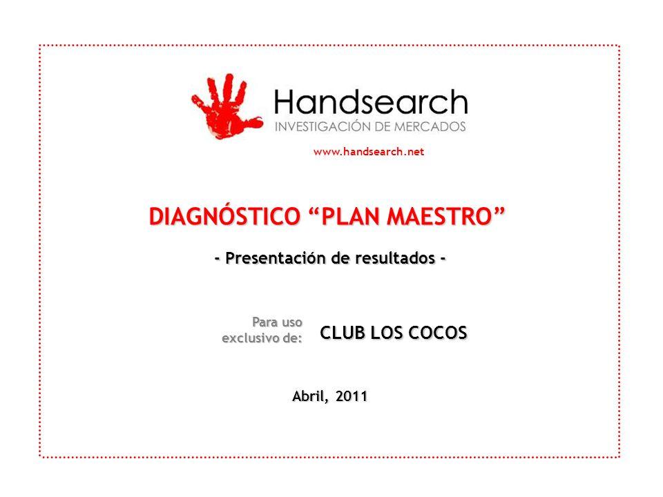 DIAGNÓSTICO PLAN MAESTRO - Presentación de resultados -