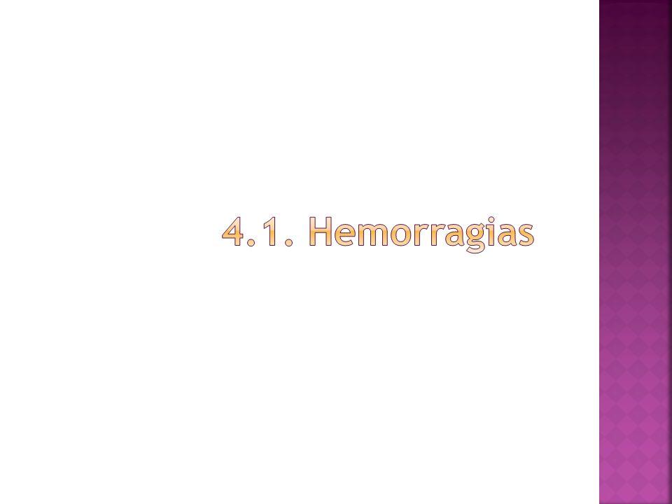 4.1. Hemorragias