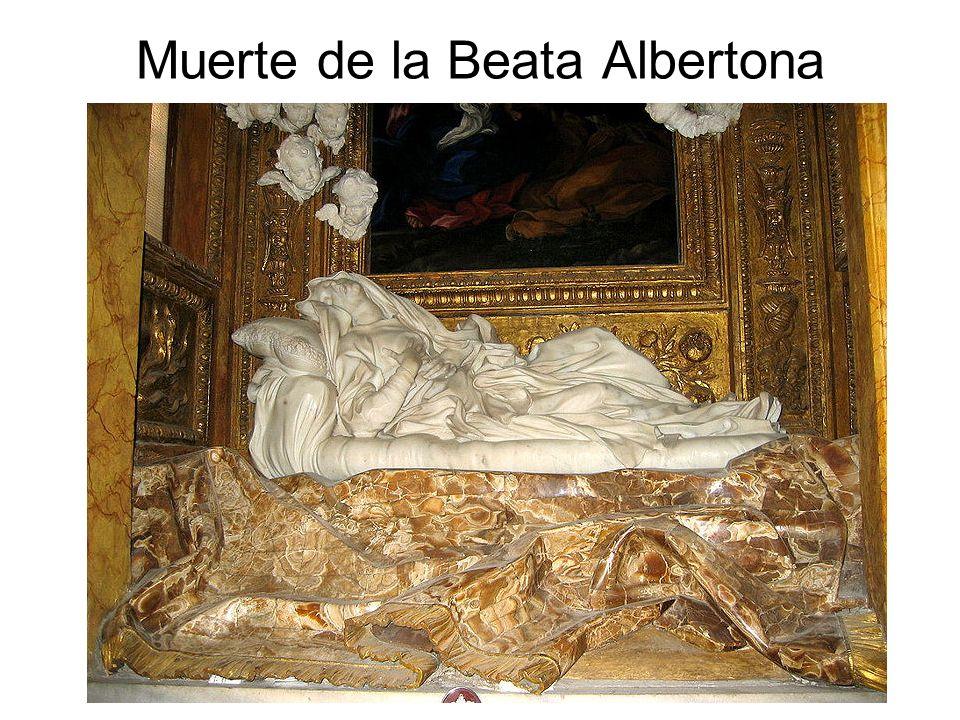 Muerte de la Beata Albertona