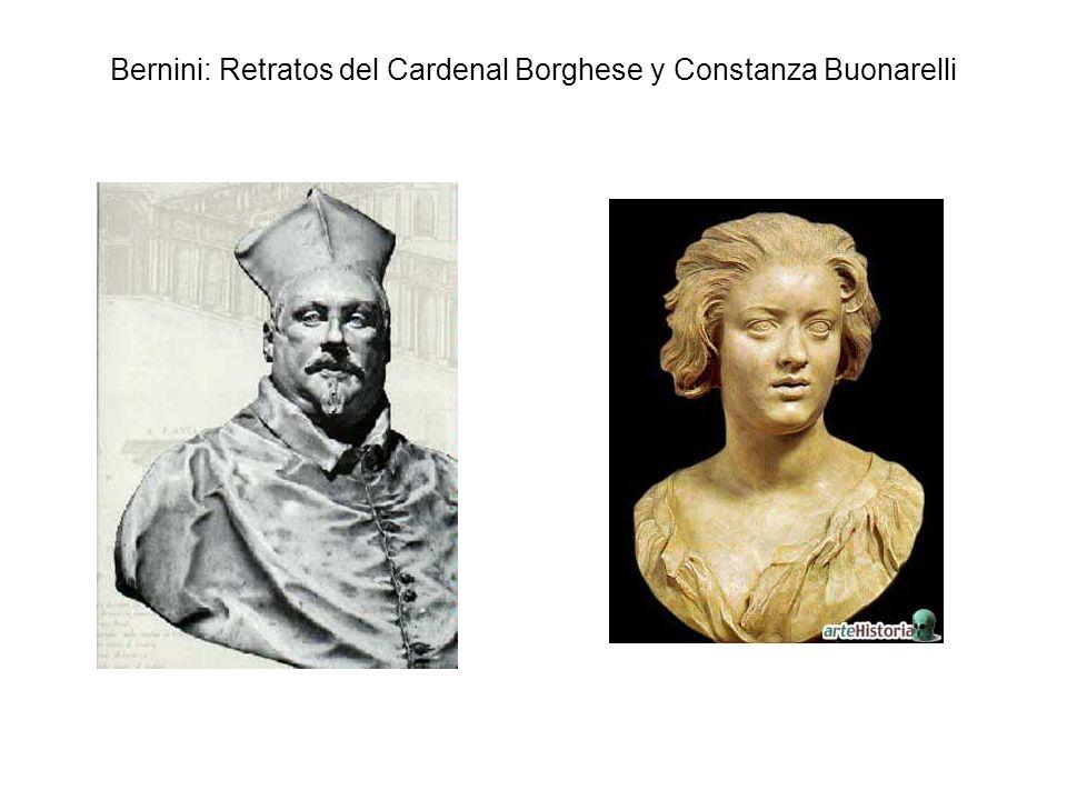 Bernini: Retratos del Cardenal Borghese y Constanza Buonarelli