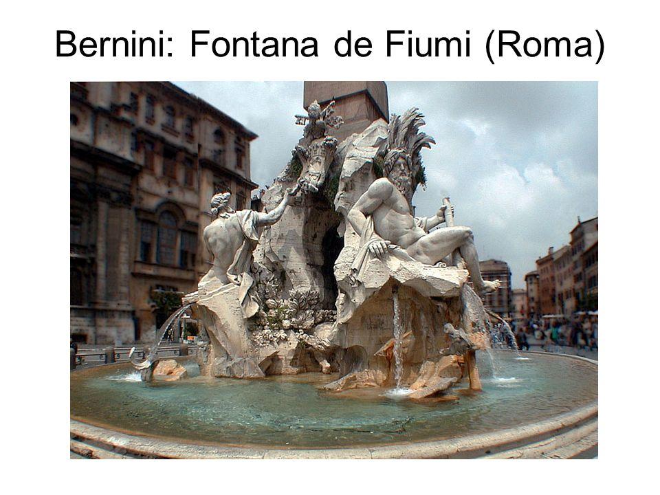 Bernini: Fontana de Fiumi (Roma)