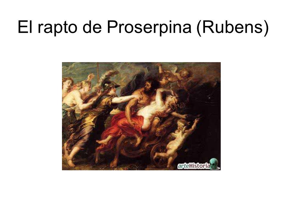 El rapto de Proserpina (Rubens)