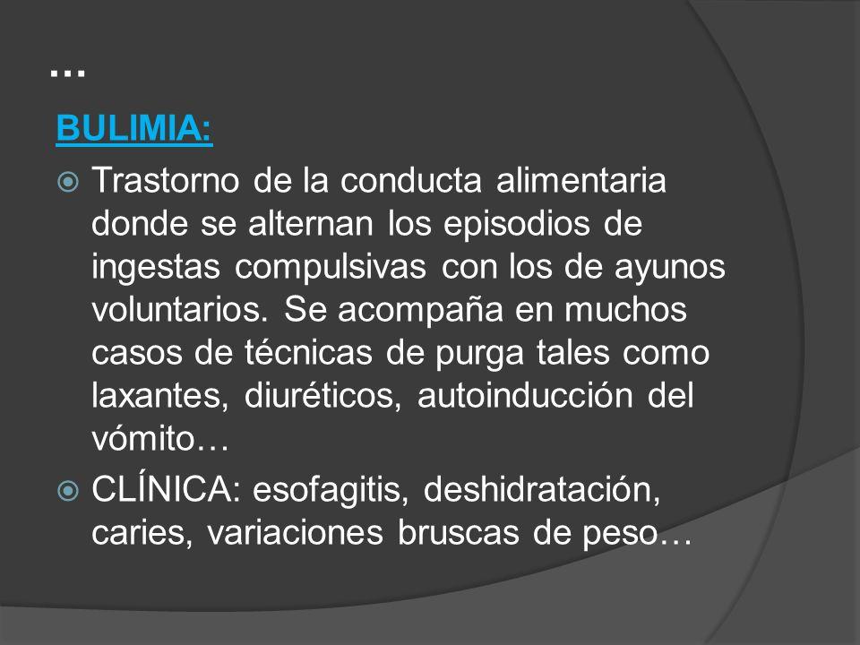 … BULIMIA: