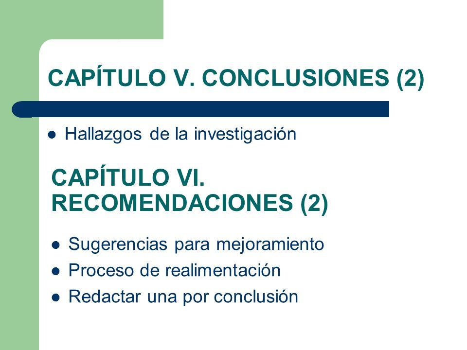 CAPÍTULO V. CONCLUSIONES (2)