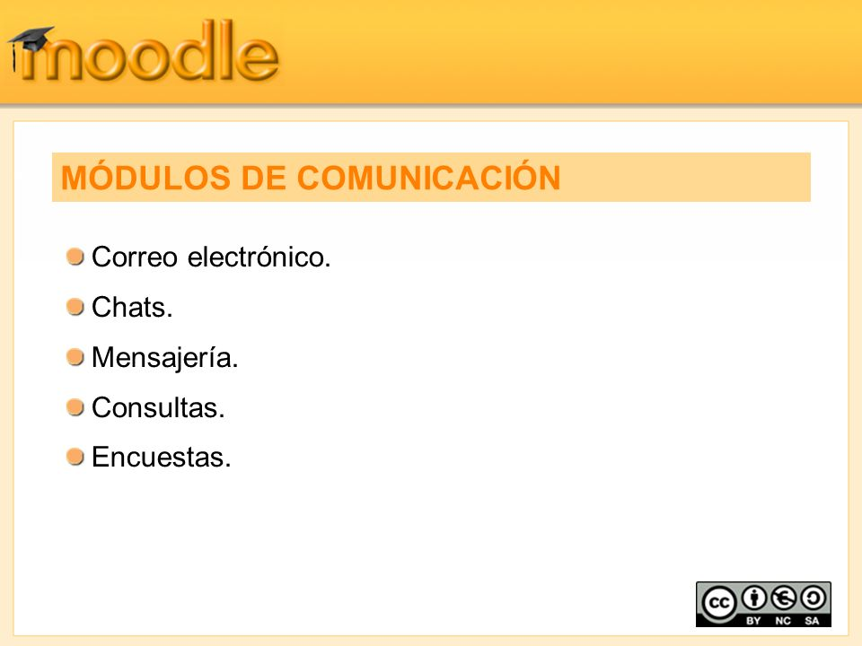 MÓDULOS DE COMUNICACIÓN