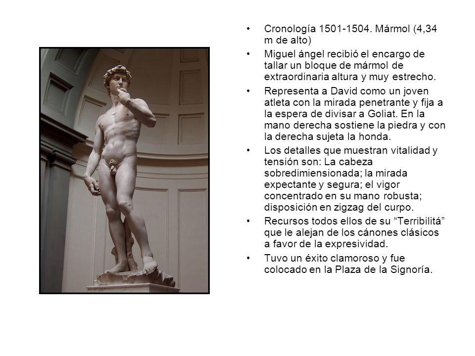 Cronología 1501-1504. Mármol (4,34 m de alto)