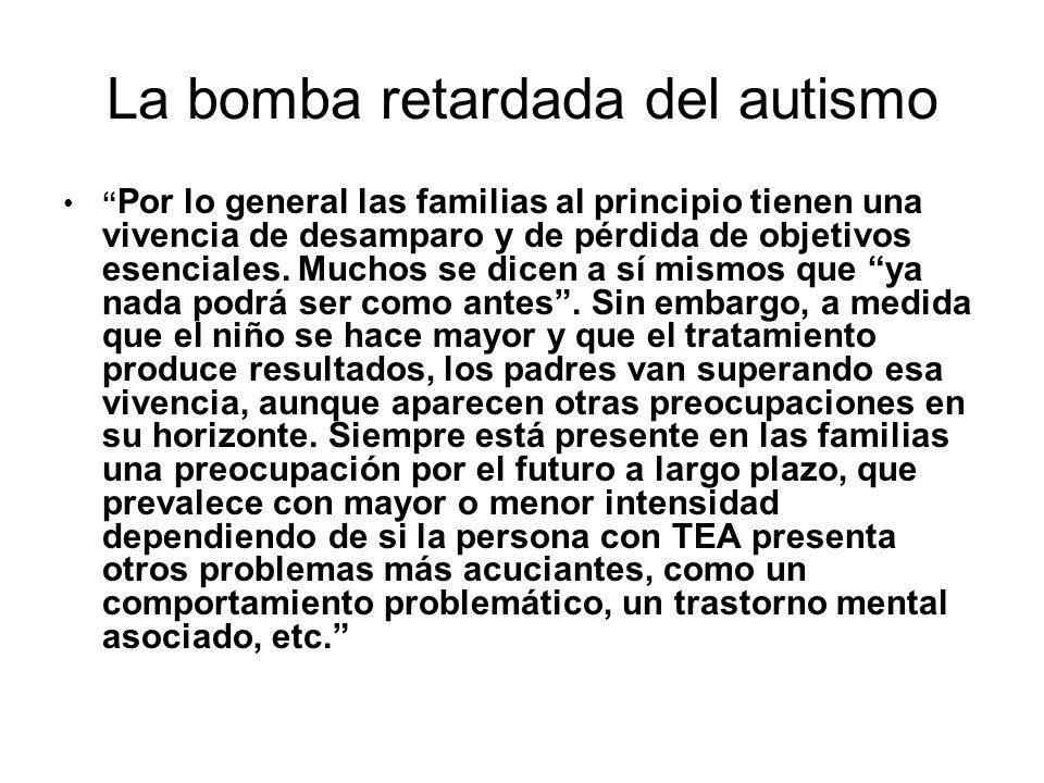 La bomba retardada del autismo