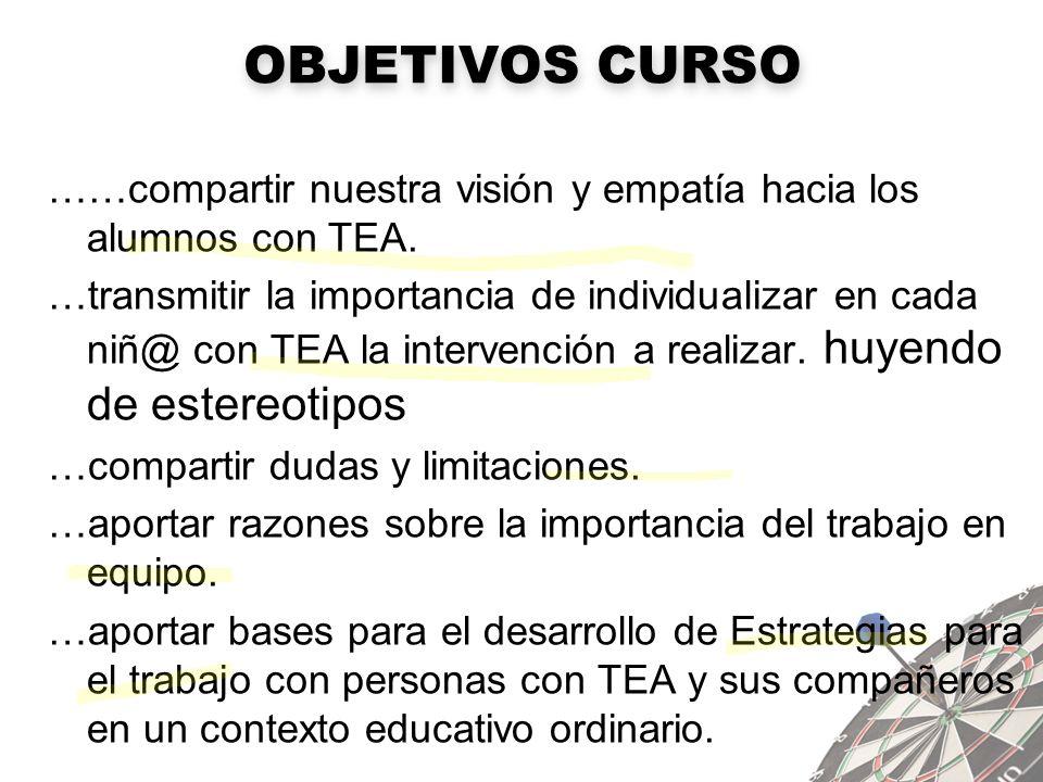 OBJETIVOS CURSO