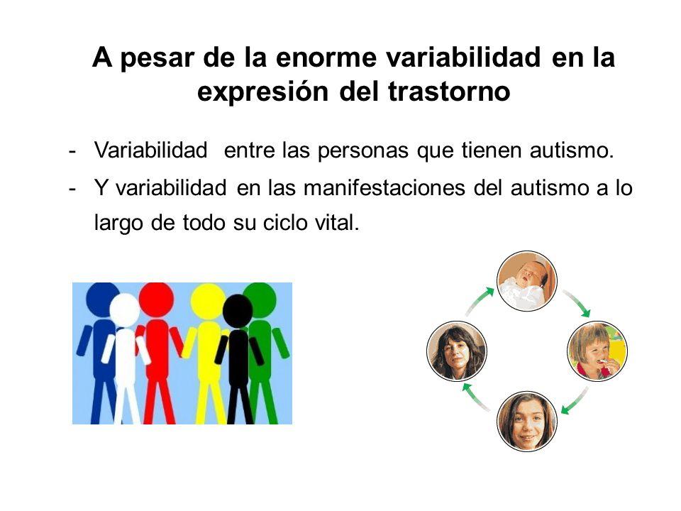 A pesar de la enorme variabilidad en la expresión del trastorno