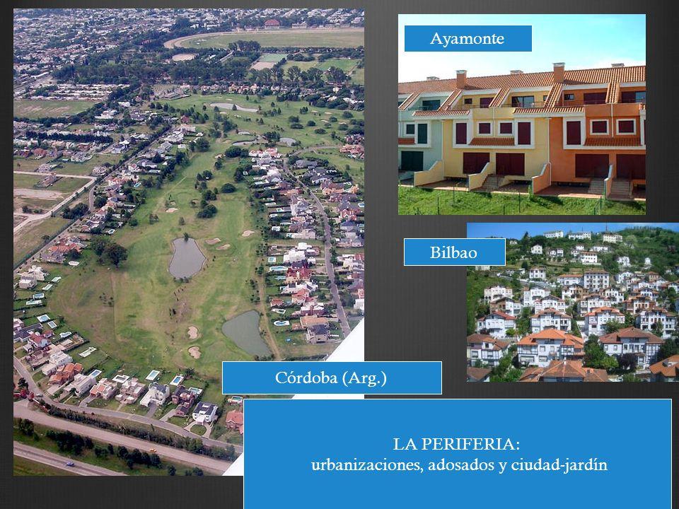urbanizaciones, adosados y ciudad-jardín