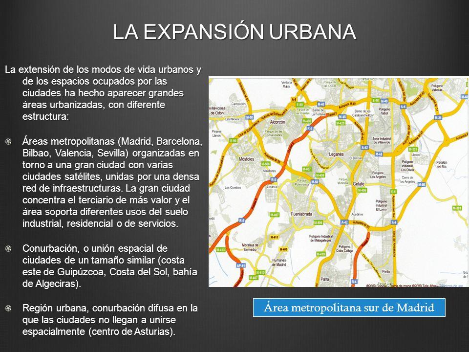 Área metropolitana sur de Madrid