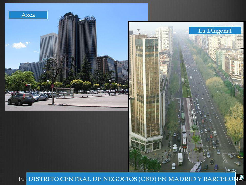 EL DISTRITO CENTRAL DE NEGOCIOS (CBD) EN MADRID Y BARCELONA